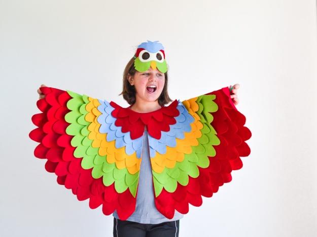 parrotbirdmaskwingscostumechildrenkidshalloween-2